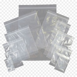 45g-50pcs+- 3'(OPEN) X 4' X 0.05MM (T)ldpe plain zipper plastic bag