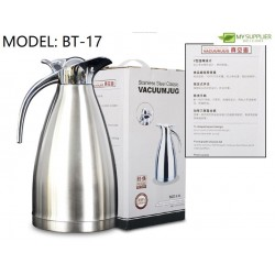 2Litre 304 Stainless Steel Insulated Flask Thermos Jug W14.5cm*H29cm