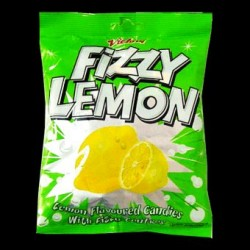 150g fizzy lemon flavour candies