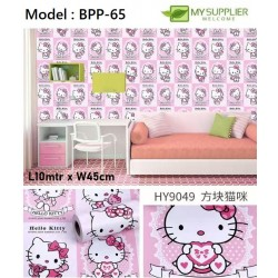 9049 Hello Kitty Wallpaper W45cm x L10mtr